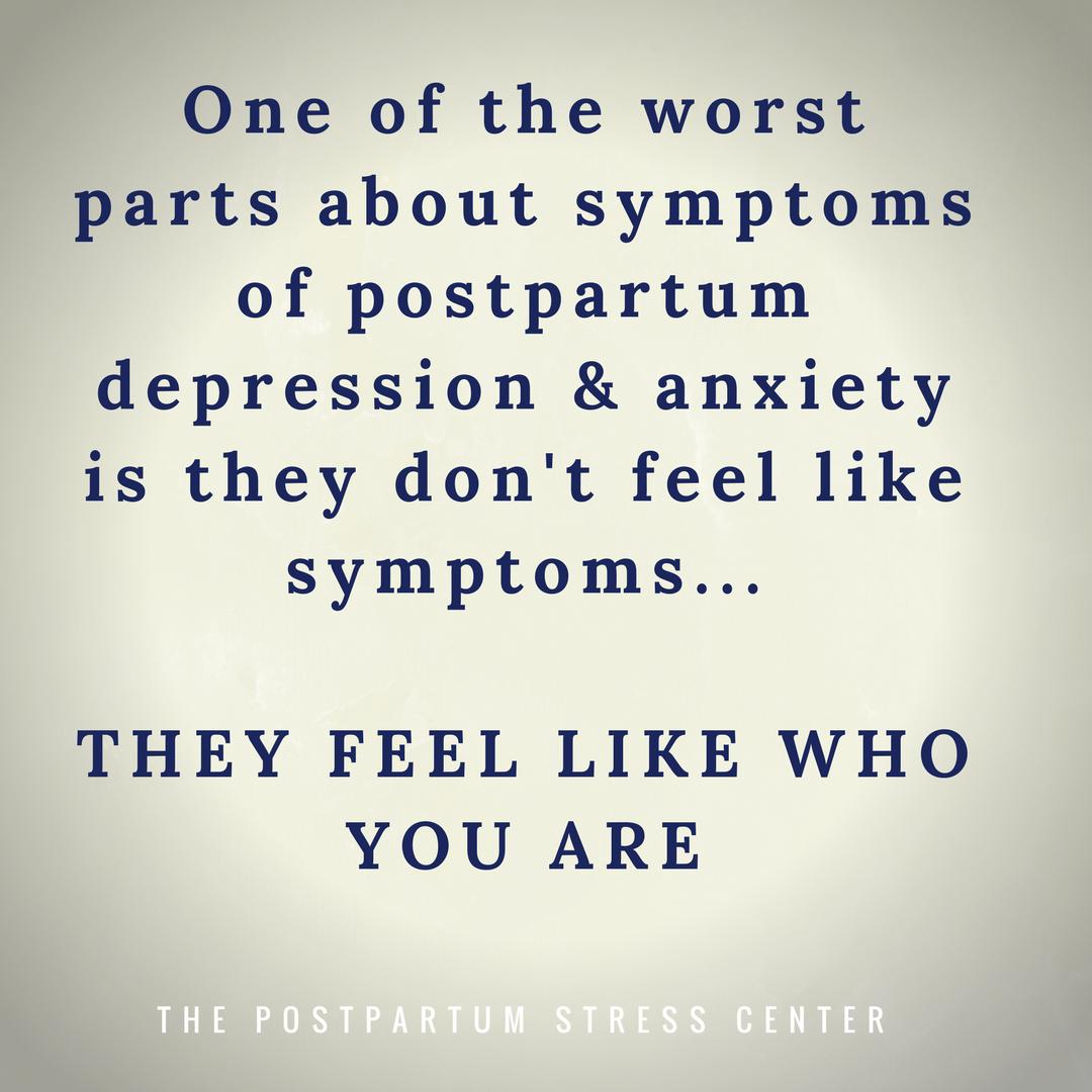 recognizing postpartum depression in yourself